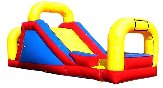 Take a ride on our Backyard Slide, it's a much for any Party Rental.