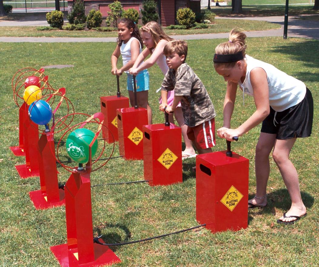 Be the first to rent Boom Blasters from Bette's Bounces. Kids love Boom Blasters. Boys and Girls of all ages can play.