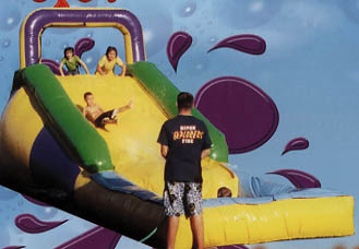 Rent a Backyard Water Slide today to beat the heat. Bettes is the Number 1 Party Rentals in PA, DE & NJ.