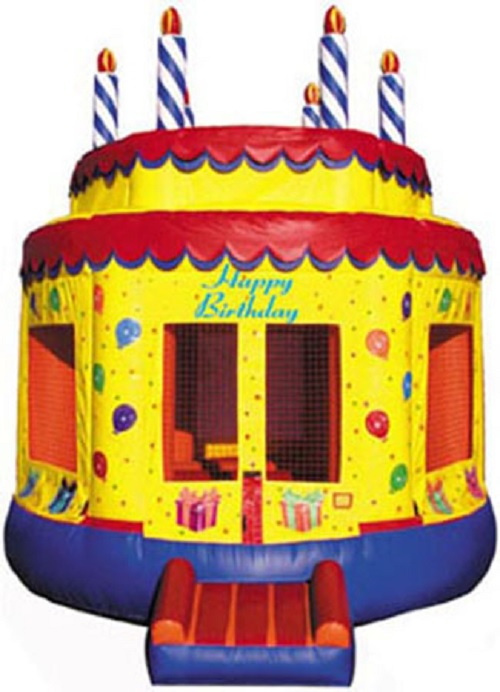 Birthday Cake Moonbounce