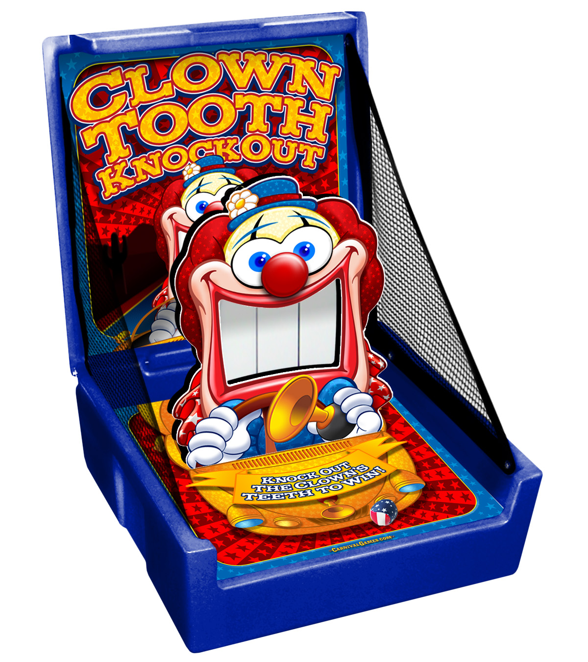 Clown Tooth Knockdown