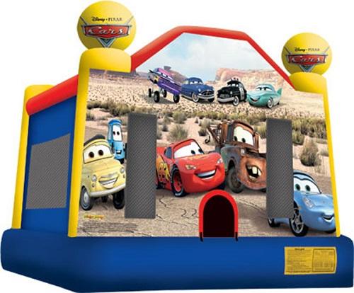 Cars Moonbounce