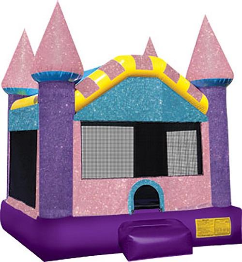Dazzling Castle Moonbounce