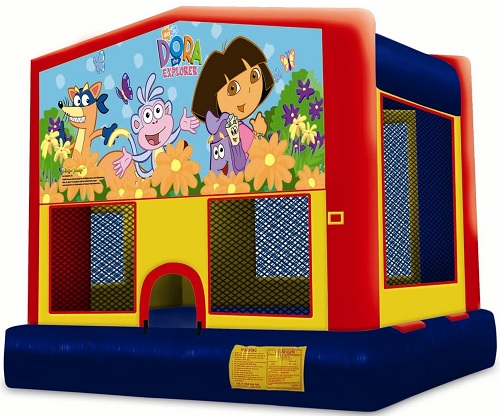 Dora the Explorer Moonbounce 2