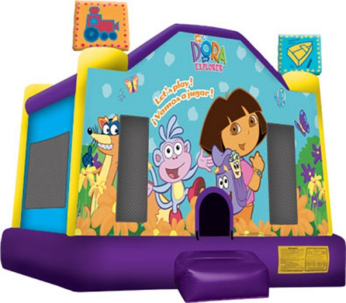 Dora the Explorer Moonbounce