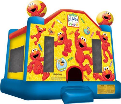 Elmo's World Moonbounce