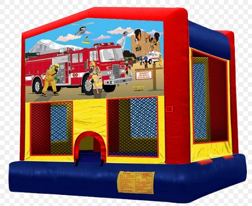 Fire Fighter Moonbounce