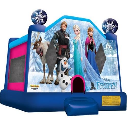 10'x10' Frozen Moonbounce
