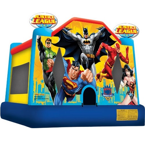 10'x10' Justice League Moonbounce