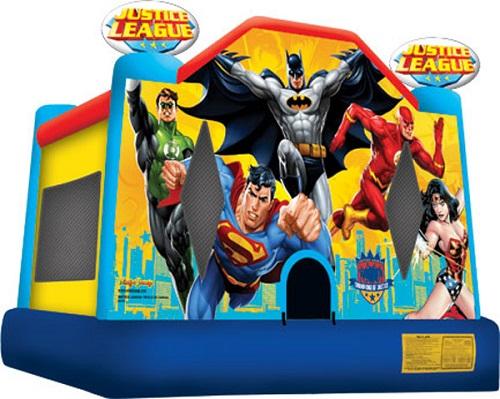 Justice League Moonbounce (10'x10')