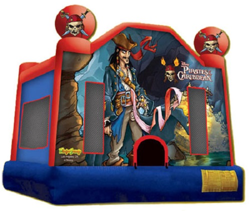 Pirates of the Caribbean Moonbounce