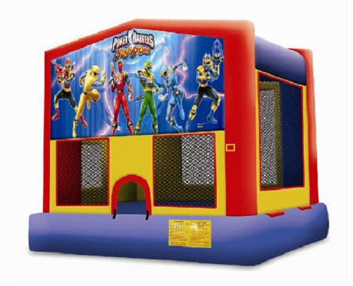 Power Rangers Moonbounce