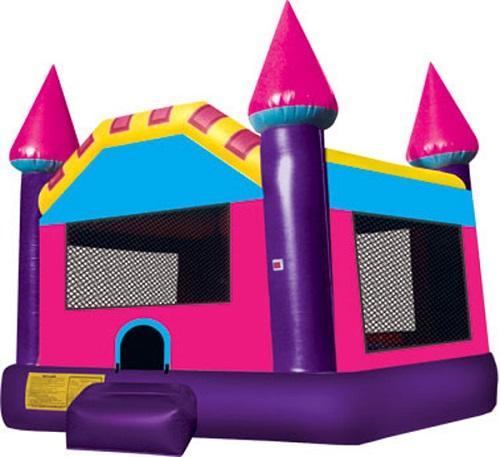 Purple Castle Moonbounce