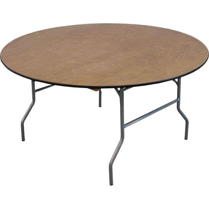 "60"" Round Table (Wooden)"