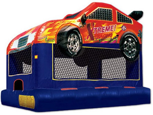 Race Car Moonbounce