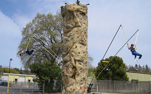 Rock Wall with Monkey Motion (Includes Staffing)