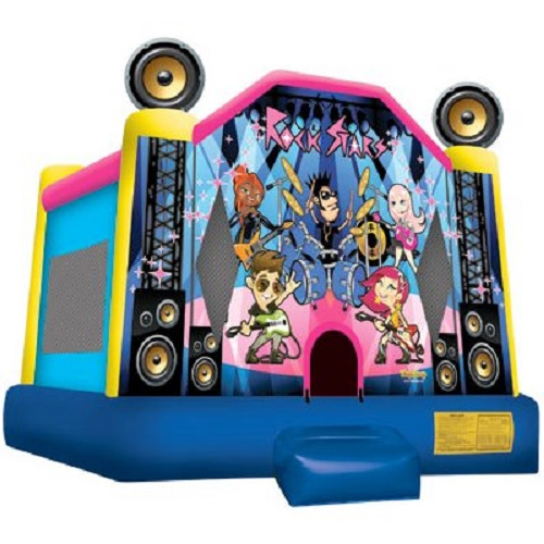 Rock Stars Moonbounce
