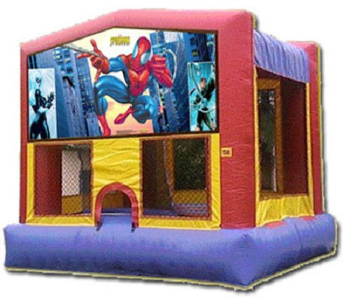 Spiderman Moonbounce