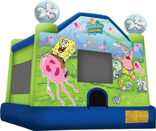Spongebob Moonbounce
