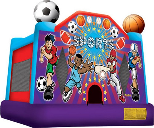 Sports USA Moonbounce