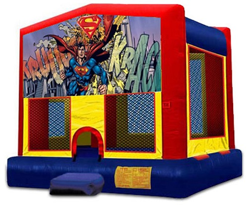 Superman Moonbounce