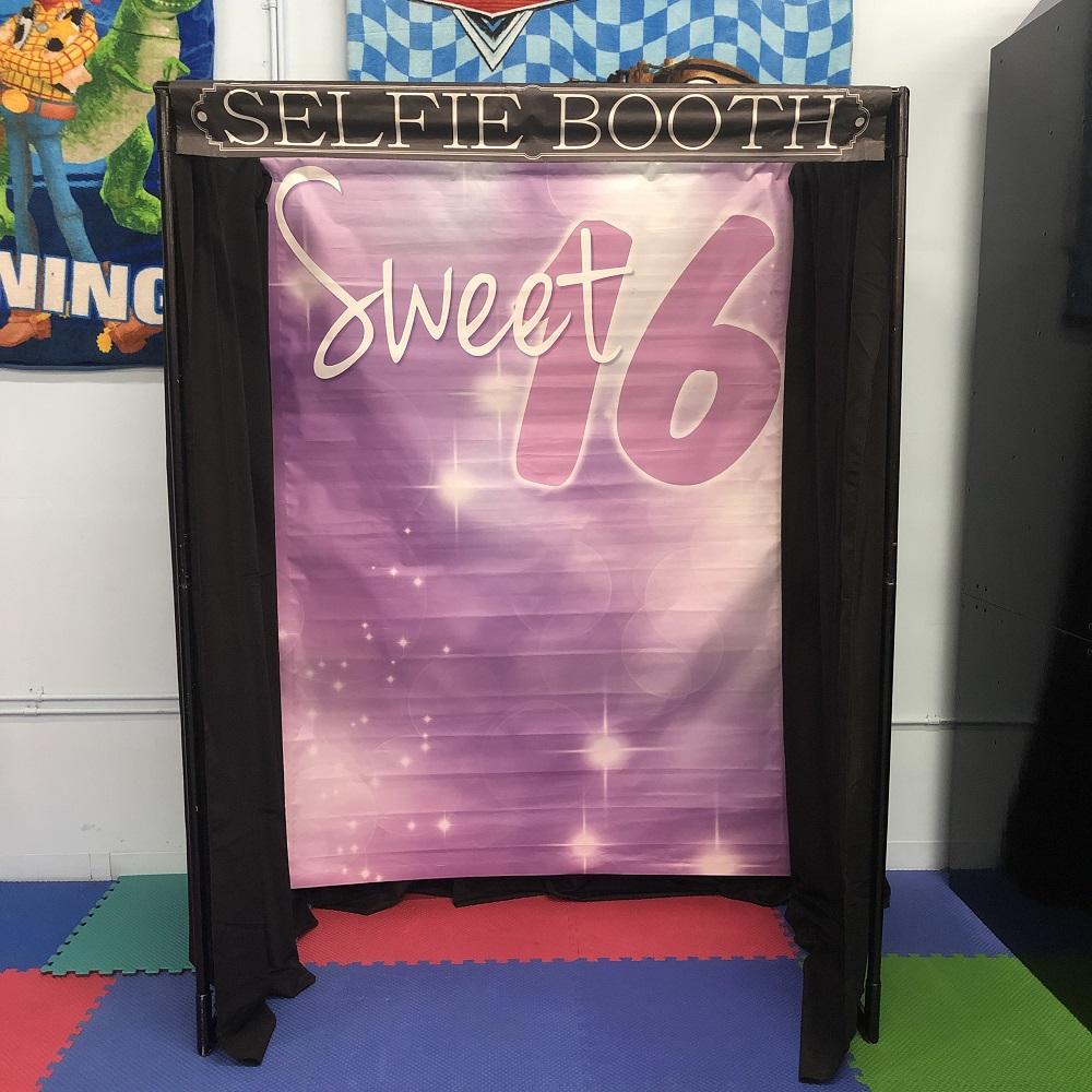 Sweet 16 Selfie Booth