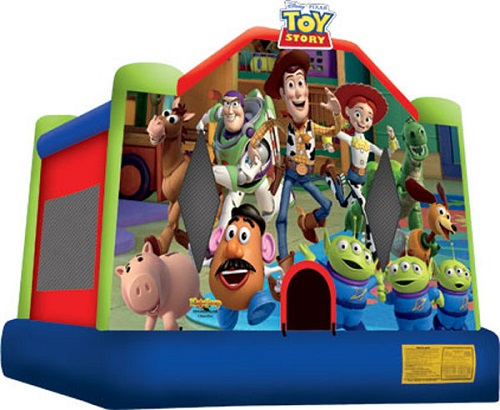 Toy Story Moonbounce