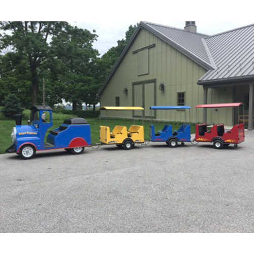 Trackless Train (Includes Staffing)