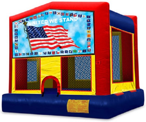 United We Stand Moonbounce