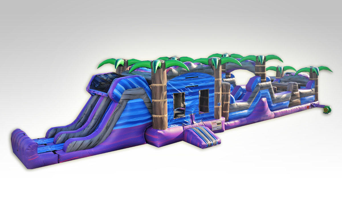 Purple Crush Obstacle Course