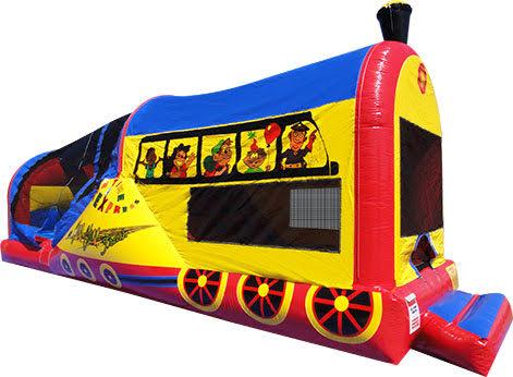 Choo Choo Jump & Slide