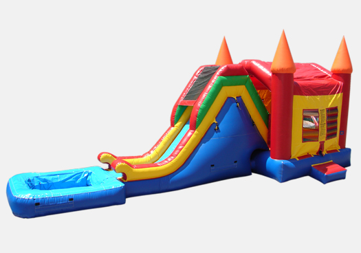 Water Slide with Moonbounce Attaches.