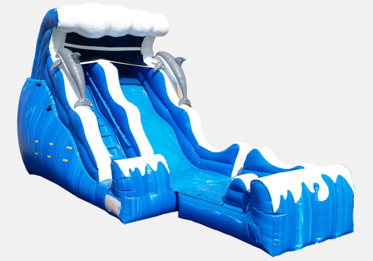 Double Dip Water Slide