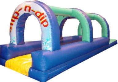 Rent our inflatable Slip N Dip.
