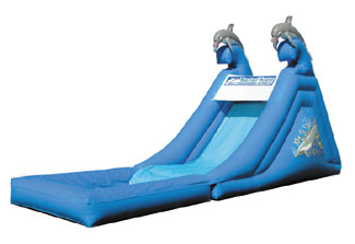 Inflatable slides are a number 1 rented item at Bettes Bounces.