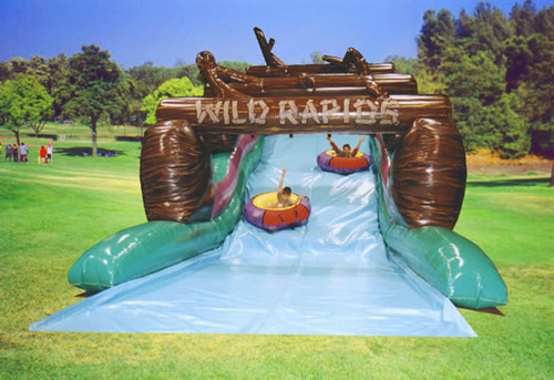 Do you dare go down Wild Rapids water slide? Bette's Bounces is your number 1 source for party rentals in Pennsylvania.